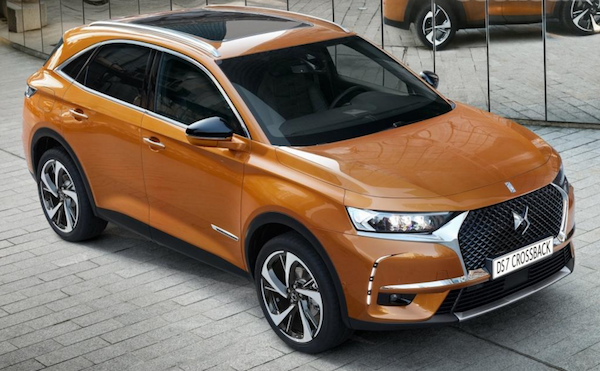 DS7 frontal