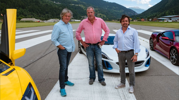 May, Clarkson, Hammond y el estreno de la segunda temporada de The Grand Tour.