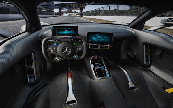 Vista del interior del Project One. (Foto: Mercedes AMG).