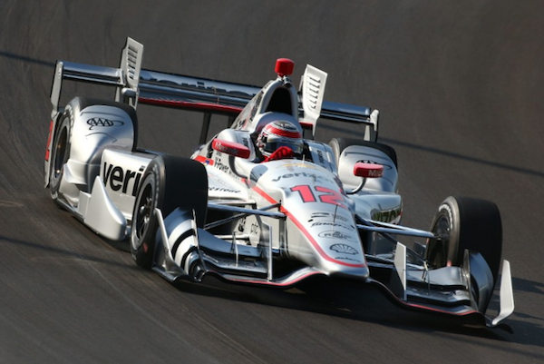 Will Power y su Penske largarán desde la Pole en el óvalo de Gateway.